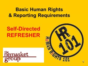 Human Rights Refresher Course